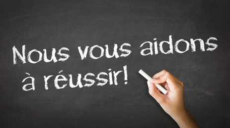 We help you succeed (In French)